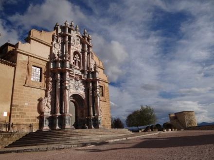 Kathedrale von Caravaca (hier findet alle 7 Jahre ein heiliges Jahr zu Ehren des wahren Kreuzes statt)