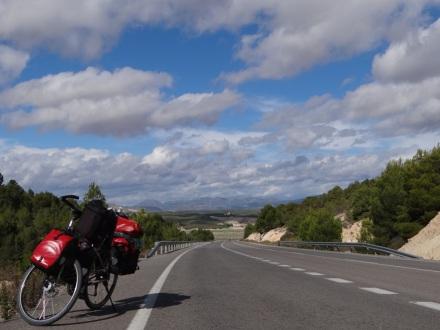 auf dem Weg nach Lorca