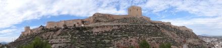 Das - z.T. noch maurische - Kastell von Lorca