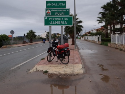 Ankunft in Andalusien