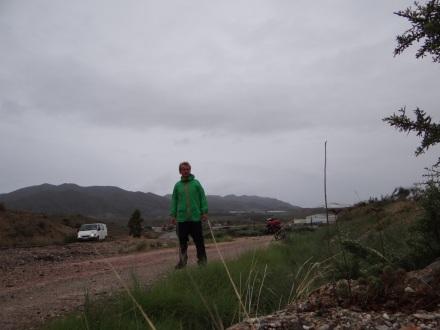 Das Wetter in Andalucía hatte ich mir anders vorgestellt.