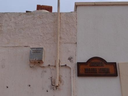 Erinnerungen an Sergio Leone in Los Albaricoques