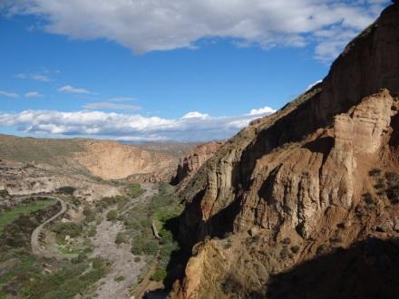auf dem Weg in die Alpujarras