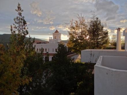 Blick von meiner Terrasse in Laujar