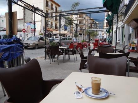 Cafe con leche in Orgíva