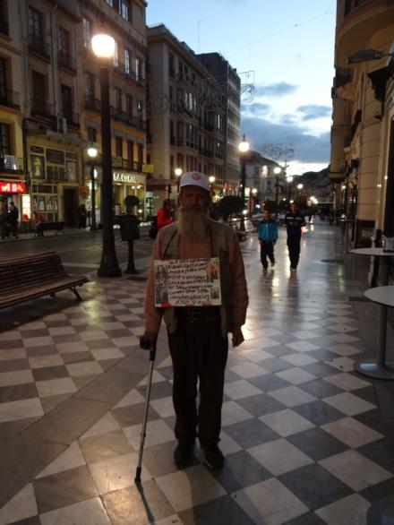 Von diesen armen Menschen gibt es in Spanien jede Menge.