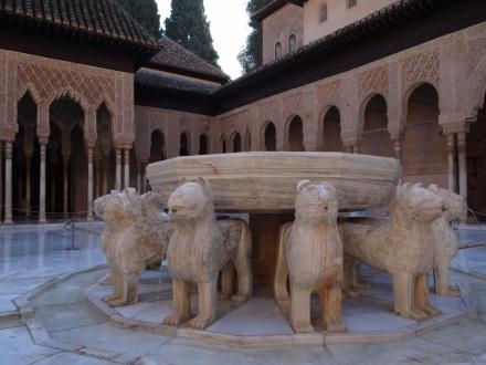 Alhambra: Löwenbrunnen