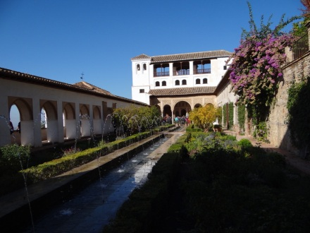 Alhambra: Wasser überall