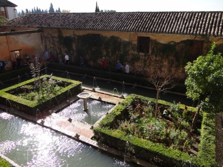 Garten der Alhambra