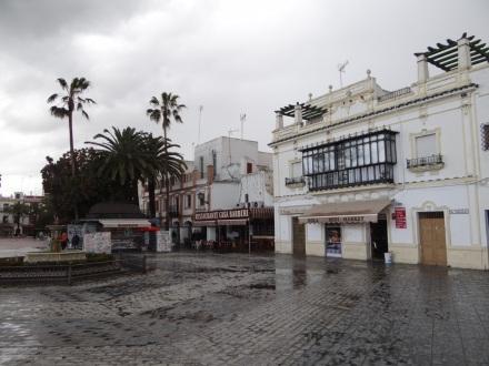 Ayamonte – nach dem zweiten heftigen Schauer des Tages