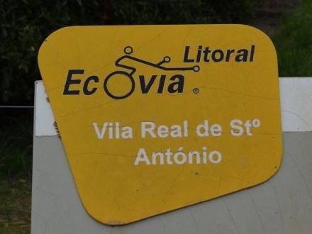 Manchmal beschildert: die Écovia (EV1)