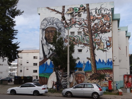 Interessante Graffiti in Olhao