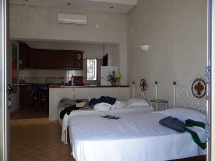 Mein Hostel-Studio – eher wie ein 3-Sterne-Hotel …