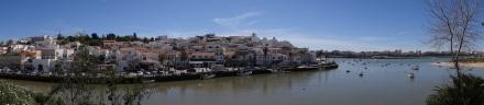 Blick auf Ferragudo bei Portimao