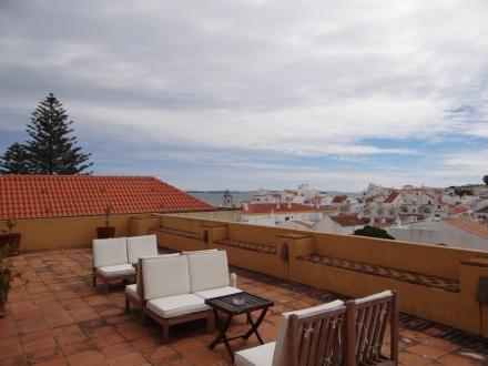 auf der Dachterrasse des Casa da Moura