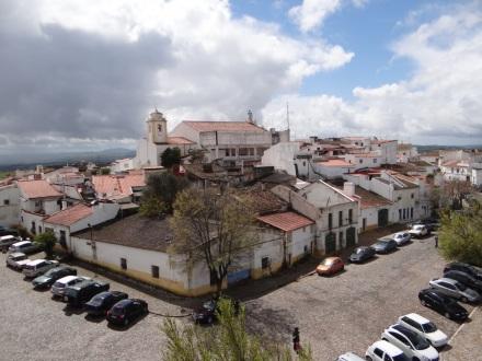 Blick vom Kastell auf die Stadt