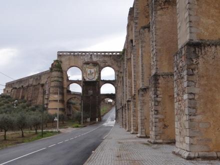 Aquädukt – auf meinem 2. Spaziergang außerhalb der Altstadt