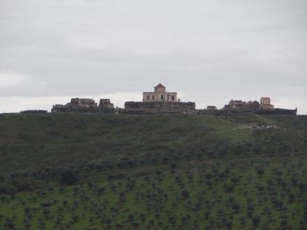 Festung (Fort) Graca im Norden der Stadt – ich weiß gar nicht, ob ich jemals eine derart wehrhaft und mannigfaltig befestigte Stadt gesehen habe?