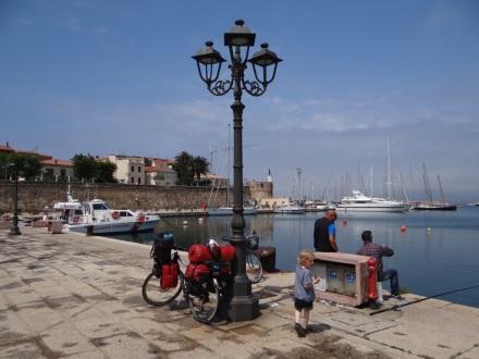 zurück in Alghero - und seit Donnerstag zurück auf dem Rad!