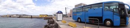 Busfahrt von Santa Teresa nach Olbia: Zwischenstopp in Palau