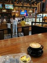 Ein richtiger Cappuccino ... ich muss also doch nicht sterben in Xi'an ;)
