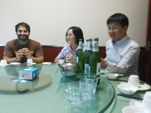 Lee Zhengpin, Sun Jing und Tobias von QuintEssenz
