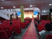 In einer protestantischen Kirche in Taiyuan (Ida und Robert sind Christen.)