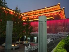 Die Konzerthalle von Xi'an (wurde vor ca. 5 Jahren gebaut) - wunderschön!