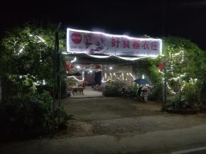 """Chinesen lieben Lichterketten - vor allem an Restaurants und """"Biergärten""""."""
