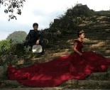 Hochzeitsfotos - überall, wo es schön ist oder wo es die Chinesen schön finden, werden sie gemacht ...