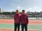 Mit Zhengping beim Sportfest.