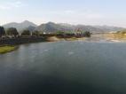 Flußlandschaft bei Tonglu.