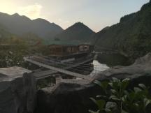 Unsere Unterkunft bei Tonglu.