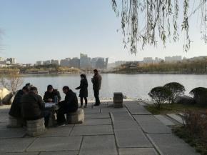 Spaziergang am 24. Dezember - bei 12 Grad und herrlichem Wetter.