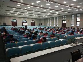 Deutschschüler der Nr. 89 bei der Semester-Zwischenprüfung im November