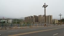 Typische Hochhaussiedlung: Neubauten in Guang Yu An.