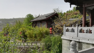Das zu den Qian Fo-Klippen gehörende Museum.