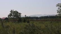 Blick auf die Qinling-Berge im Süden von Xi'an.