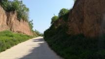 Lösslandschaften prägen ganz häufig das Bild von Shaanxi und Shanxi.