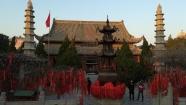 Ca. 400 Jahre alte Tempelanlage in Kaifeng.