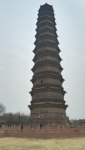die fast 1000 Jahre alte Eisenpagode in Kaifeng