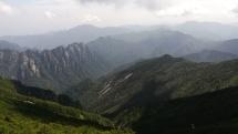 Beim Aufstieg zum Tai Bai Shan.